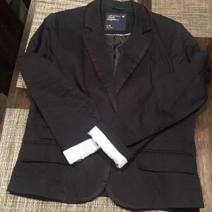 Navy blazer from AE